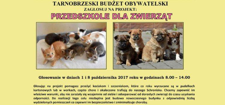 Projekt obywatelski Przedszkole dla Zwierząt
